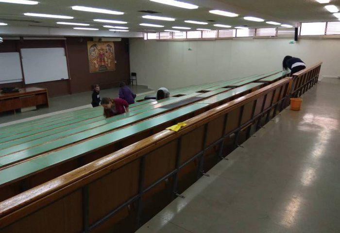 Πάνω από 200 φοιτητές καθάρισαν το ΑΠΘ από τις καταστροφές (ΦΩΤΟ/ΒΙΝΤΕΟ)