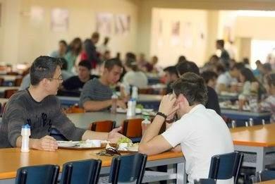 Παρέμβαση, δωρεάν, σίτιση, φοιτητών, ΤΕΙ Λάρισας, 2015