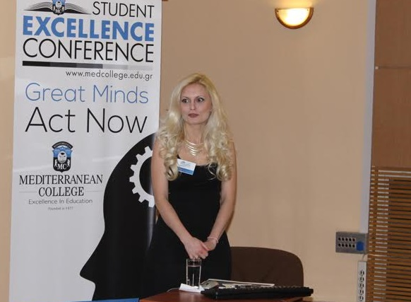 Mediterranean College Ολοκληρώθηκε το 3ο Student Excellence Conference Great Minds Act Now
